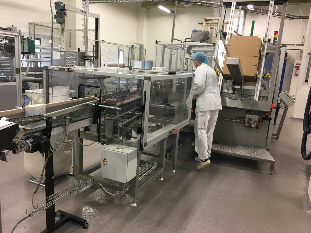 At DANA Sweden AB production facility we can provide up to 1000 tons of finished infant nutrition products per month